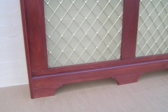 Studley design radiator cabinet lower rail shot