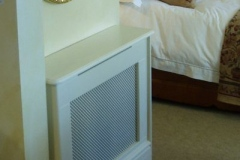Studley design radiator cover finished in antique white