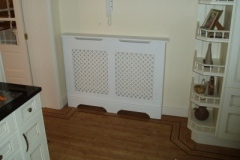 Studley design radiator cabinet, the Studley is a traditional cabinet with ornate features