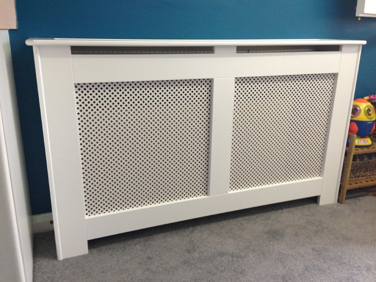 safety radiator cover fitted in a day nursery in harrogate west yorkshire