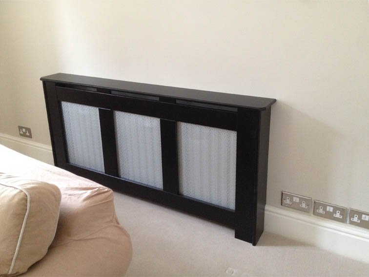 radiator cover black