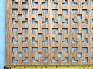 Oak veneer radiator cover grilles and screening panels for sale online