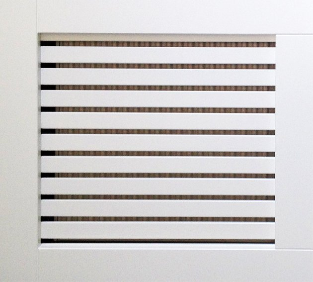 Slatted MDF Horizontal