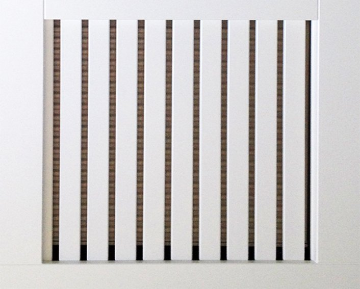 Slatted MDF Vertical